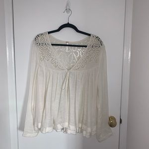 NWOT Free People Flowy Top